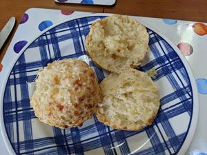 sourdough cheese scones