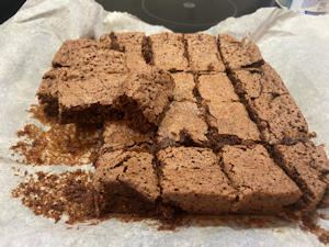 lockdown fudgy cocoa brownies